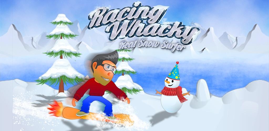 赛车怪诞滑雪冲浪