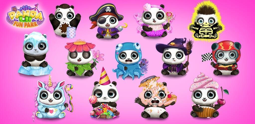 熊貓寶寶逛樂園