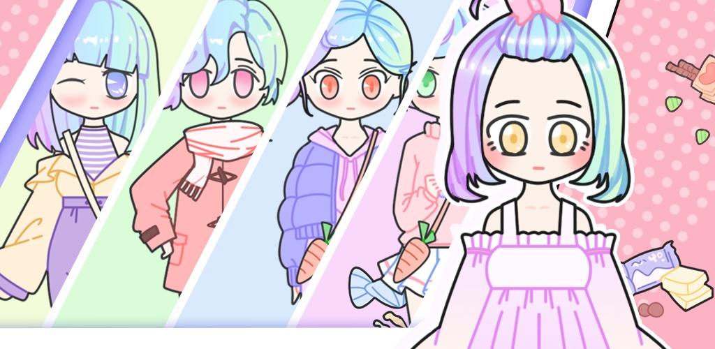 粉彩女孩换装软件