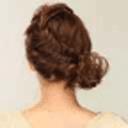 教你盘发之时尚型