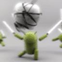 安卓机器人大战苹果动态壁纸