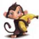 馋嘴猴挑水果