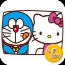 YOO主题-哆啦A梦偷窥kitty