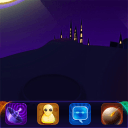 GO主题-紫色夜空