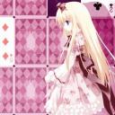 E主题:扑克美女