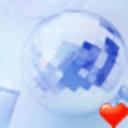 蓝色水晶桌面主题-魔秀