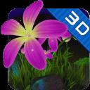 紫蝶花3D动态壁纸