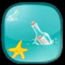 宝软3D主题-小清新漂流瓶