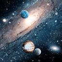转动的星系动态壁纸