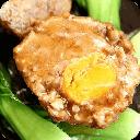 美味蛋黄红烧狮子头