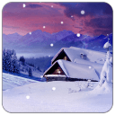 冬日小屋主题(锁屏桌面壁纸)