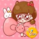YOO主题-大眼女生和kitty