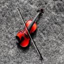 复古小提琴-桌面壁纸