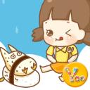 YOO主题-龙猫女孩