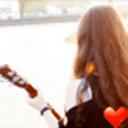 吉他少女桌面主題—魔秀