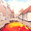 宝软3D主题-火在街头蔓延