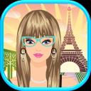 公主装扮在巴黎
