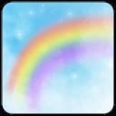 彩虹天堂桌面主题