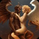 寶軟3D主題-惡魔配天使