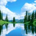世界最美蓝天白云动态壁纸