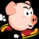 小猪回家跑酷单机游戏