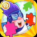 呆呆超人学英语-Jigsaw Puzzle(幼儿英语游戏)-黄金教育