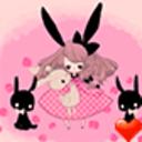 可爱兔女郎桌面主题—魔秀