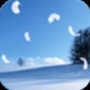 唯美雪景动态壁纸