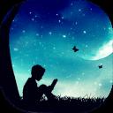 梦幻夜空主题动态壁纸