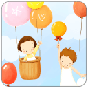 爱的气球动态壁纸