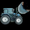 挖掘拖拉机