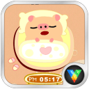 小猪起床闹钟动态壁纸