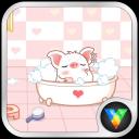 小猪洗澡动态壁纸