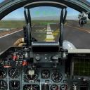 飞行的战斗机模拟器