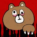 女孩碰见熊