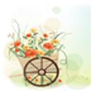 插画花朵动态壁纸