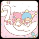 甜蜜双子星锁屏(爱情桌面主题壁纸)