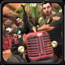 卡车爬坡:动物