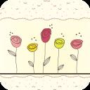 碎花玫瑰-宝软3D主题