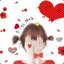 非主流韩版小女生锁屏