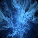 蓝色火焰动态壁纸
