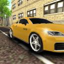 城市出租车司机停车3D