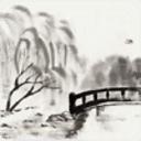 写意的水墨山水主题动态壁纸