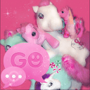 GO SMS PRO Theme Pony 临主题小马主题