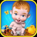 婴儿护理幼儿的游戏乐趣