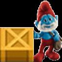 蓝精灵推箱子
