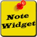 note widget桌面便签