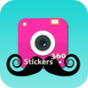 Mustaches Hipster Stickers