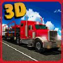 汽车运输拖车3D辛
