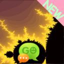 GO SMS Theme 去短信主题的分形黄河